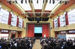Beim Festakt wurden die Preisträger Soziale Stadt 2010 geehrt.
