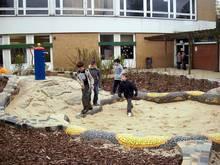 Der neue Wasserspielplatz