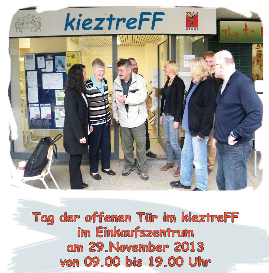 Tag der offenen t r im kieztreff quartiersmanagement for Tag der offenen tur berlin
