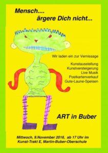 ART in BUBER 2016