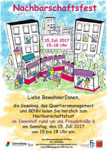 12. Hoffest in der Freudstraße 6