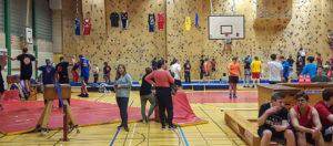 Slackline-Klettern-Basketball im Falkenhagener Feld (Foto: B7)