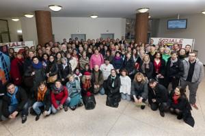 Vertreter aller Verfahrensbeteiligten aus Quartiersräten, Bezirken, QM-Teams sowie der Senatsverwaltung. Bild: Jan-Peter Boening