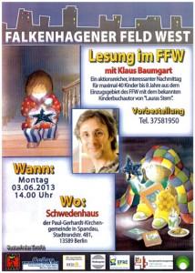 Lesung im FFW