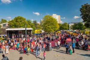 Stadtteilfest im Falkenhagener Feld