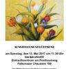 Ausstellungseröffnung zum 4. Frühlingsfest 2017