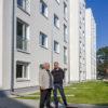 """Amar Gourrie und Alex Quitta von """"BENN – Berlin entwickelt neue Nachbarschaften"""" (Foto: QM)"""