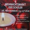 Adventsgestecke & Weihnachtsmarkt der Schüler 2017