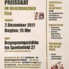 Weihnachtspreisskat 2017 im Falkenhagener Feld