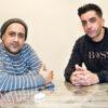 Das Outreach-Team Abbas Saberi und Muharrem Yildirim (Foto: Ralf Salecker)