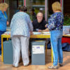 Wahllokal in der Paul-Gerhardt-Gemeinde (Foto: Ralf Salecker)