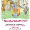 Nachbarschaftsfest 2019 in der Freudstraße 6