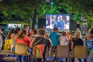 Westerwaldplatz strahlt und Open-Air-Kino 2019 (Foto: Ralf Salecker)