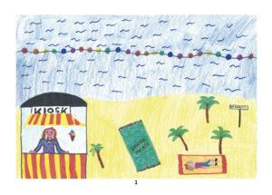 Bild 1 - Malwettbewerb: Gruppe 10 bis 13 Jahre