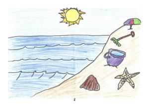 Bild 2 - Malwettbewerb: Gruppe 10 bis 13 Jahre