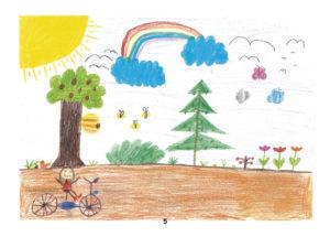 Bild 5 - Malwettbewerb: Gruppe 10 bis 13 Jahre