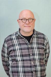 Karl-Heinz Fricke Geschäftsführer, Projektleiter QM.falkenhagner.feld.west@gesopmbh.berlin 030 303 608 02 (Foto: Ralf Salecker)